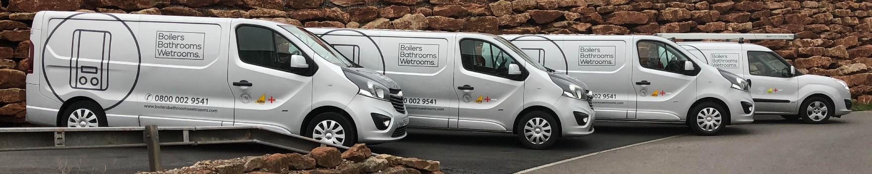 Boilers Bathrooms Wetrooms Bristol - Our Vans