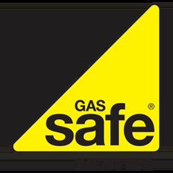 Gas Safe Black Yellow Logo
